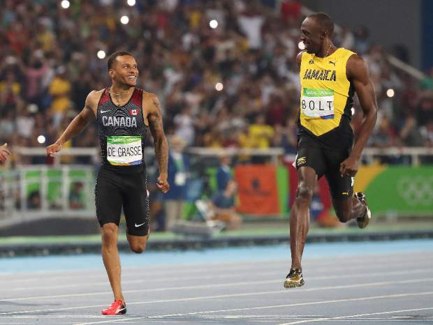 Canadian Degrasse making country proud, and having fun!